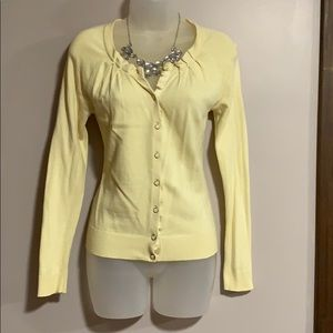 NYC Butter yellow cardigan